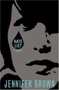 Review: Hate List by Jennifer Brown