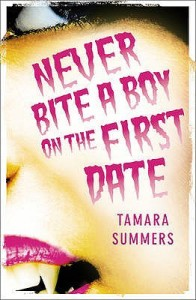Review: Never Bite a Boy on the First Date by Tamara Summers