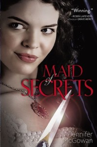 Review: Maid of Secrets by Jennifer McGowan