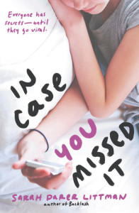 Review: In Case You Missed It by Sarah Darer Littman