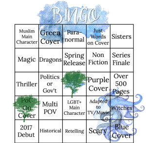 Spring 2017 Bingo 1 You're Welcome Universe
