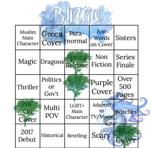 Spring 2017 Bingo 3 Letters to the Lost