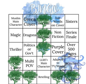Spring 2017 Bingo 7 Lost Girl of Astor Street