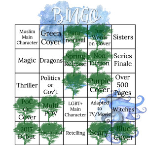 Spring 2017 Bingo 11 A List of Cages