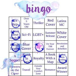 Summer 17 Bingo 5 My Lady Jane